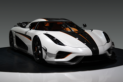 The current most powerful production car is the Koenigsegg Regera.