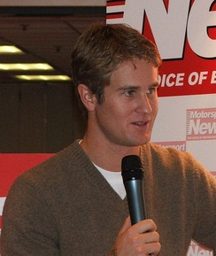Hunter-Reay at the Autosport International in 2005.