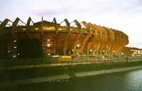 The West Stand of the National Stadium