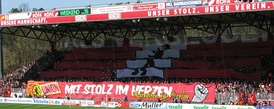 Supporters choreography in 2010