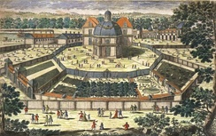 The Versailles menagerie during the reign of Louis XIV in the 17th century