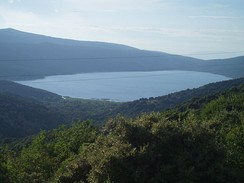 Lake Vrana on the island of Cres