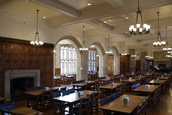 Dining Hall of the Yale Law School