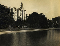 The park in 1930.