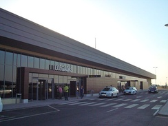 Badajoz Airport, near Talavera la Real
