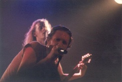 Layne Staley and Jerry Cantrell performing with Alice in Chains at The Channel in Boston in 1992.