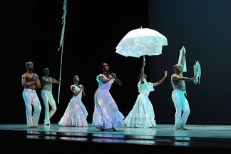 "Alvin Ailey American Dance Theater perform ""Revelations"""