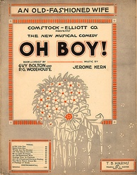 Sheet music from Oh Boy!