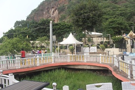 Boating resort in Vijayawada, India