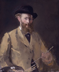Self-Portrait with Palette, 1879