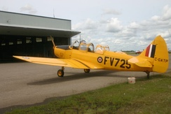 Fairchild PT-26B Cornell in flying condition at the Commonwealth Air Training Plan Museum, Brandon, Manitoba, 2005.