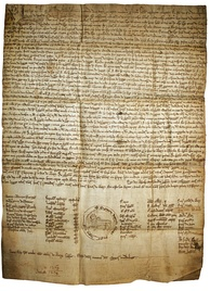 One of the oldest legal documents written in Galician, the Foro do bo burgo do Castro Caldelas