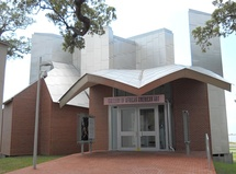 Gallery of African American Art, Ohr-O'Keefe Museum Of Art campus in Biloxi, Mississippi (2010)
