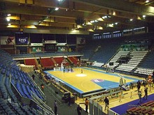 Aleksandar Nikolić Hall, home arena of the KK Partizan since 1992.