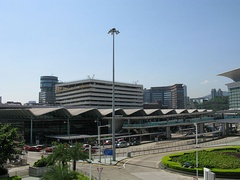 Hung Hom Station in Hung Hom, Hong Kong.
