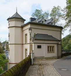 Robert Schuman's birthplace in Clausen, a suburb of Luxembourg City