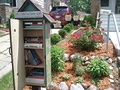 One of two Little Free Libraries in the Neighborhood