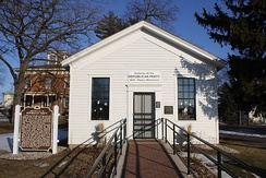 The Little White Schoolhouse in Ripon, Wisconsin, held the nation's first meeting of the Republican Party.