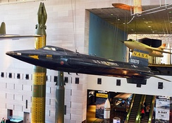X-15 at the National Air and Space Museum in Washington, D.C.