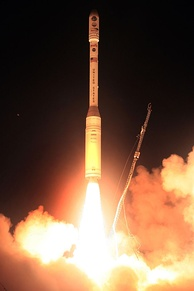 The launch of OCO's Taurus XL rocket.