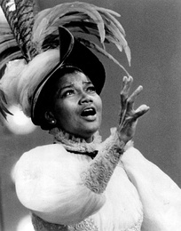 Pearl Bailey as Dolly, 1968.