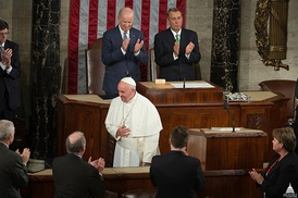 Pope Francis addressed Congress September 24, 2015.