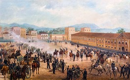 Proclamation of the Republic, 1893, oil on canvas by Benedito Calixto.