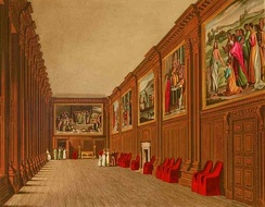 The Cartoon Gallery at Hampton Court