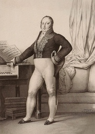 Rossini in 1829 (lithography by Charlet Ory)
