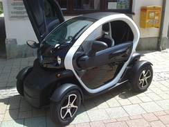 The Renault Twizy was launched in Europe in 2012 and it is classified as a heavy quadricycle.