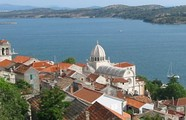 Panoramic view of Šibenik