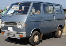 1972–1973 Suzuki Carry Super DeLuxe van (L50VF)