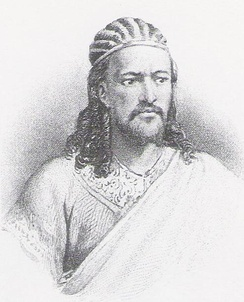 Emperor Tewodros II's rise to the throne marked the end of the Zemene Mesafint.
