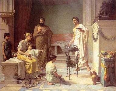 A Sick Child brought into the Temple of Aesculapius1877