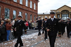 The Latvian National Armed Forces maintain a number of military bands, such as the Central Band of the Latvian Navy.