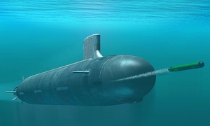 Artist's impression of a Virginia-class nuclear powered attack submarine. There are 16 in active service and the Navy will be adding another 50 boats to the class over the next three decades