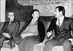 The Shah, Boumedienne, Hussein, 1975.