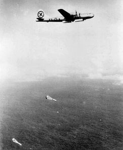 9th Bombardment Group aerial mining of Japanese home waters, 1944