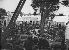 Field hospital after the Battle of Savage's Station (1862)