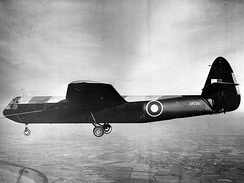 An Airspeed Horsa under tow.
