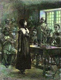 Anne Hutchinson, who was tried for slandering the ministers, was a friend and mentor of the much younger Mary Dyer