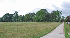 Saginaw's Bliss Park, pictured here in July 2010.