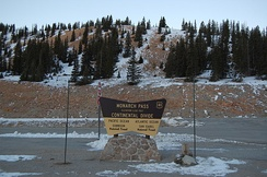 Continental Divide at Monarch Pass
