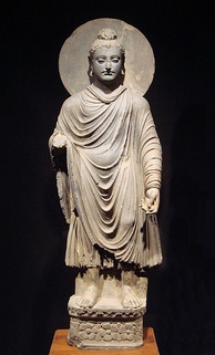 Representation of the Buddha in the Greco-Buddhist art of Gandhara, 1st century CE