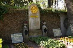 Hummel's grave in the Historical Cemetery, Weimar
