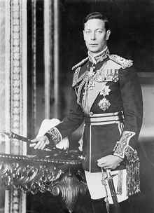 King George VI of England, formal photo portrait, circa 1940-1946.jpg