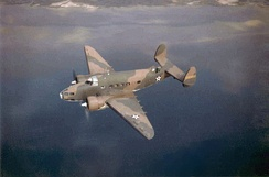 A-29 Hudson as used by the group on antisubmarine patrols