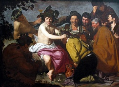 The Triumph of Bacchus, Diego Velázquez, c. 1629
