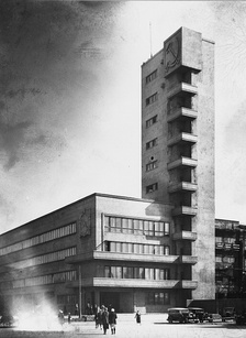 Town Hall by Noi Trotsky, Leningrad, 1932–4