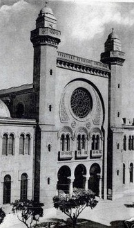 The Great Synagogue of Oran was converted into a Mosque in 1975